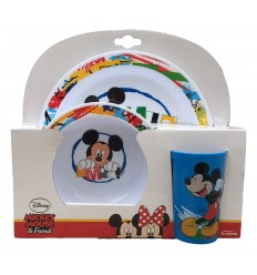Set jelly in melamine 3 piece mickey mouse 6025816 Cerdà- Futurartshop.com