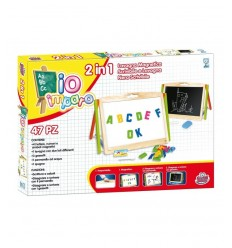 Wooden Blackboard 2 In 1 GG75001 Grandi giochi- Futurartshop.com