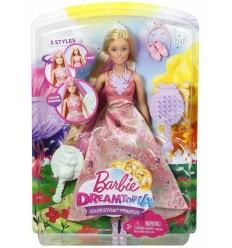 Barbie dreamtopia princess colored foliage DWH41/DWH42 Mattel- Futurartshop.com