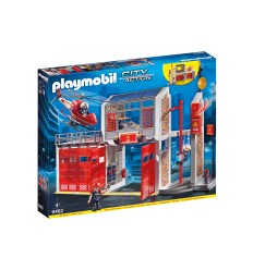 Playmobil 9462 Large central fire department 9462 Playmobil- Futurartshop.com