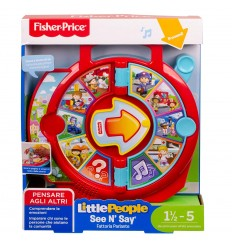 Fisher Price - La Fattoria Parlante little people FXJ70 Mattel-Futurartshop.com