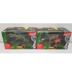 Animals, dinosaurs, realistic 2-piece set with accessories, 6 models 03214 Globo- Futurartshop.com