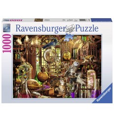 Головоломки лаборатория мерлина 1000 штук 19834 Ravensburger- Futurartshop.com