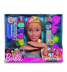 Head Barbie magic look is changing color deluxe BAR19000 Giochi Preziosi- Futurartshop.com