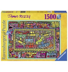 Puzzle james rizzi: on the path to your life-1500 pieces 16356 Ravensburger- Futurartshop.com