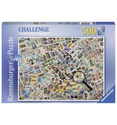 Головоломки марки 500 штук 14805 Ravensburger- Futurartshop.com