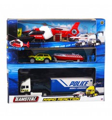 Teamsterz set intervention police GG-00906 Grandi giochi- Futurartshop.com