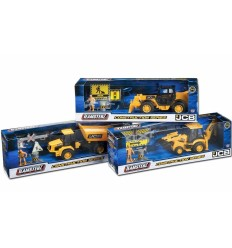 Teamsterz JCB construction vehicles-3 models GG-00899 Grandi giochi- Futurartshop.com