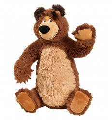 Plush Masha and the Bear - the Bear with the Legs Jointed 109309893 Simba Toys- Futurartshop.com