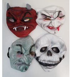 Maske-monster aus gummi IT10375 Rubie's- Futurartshop.com