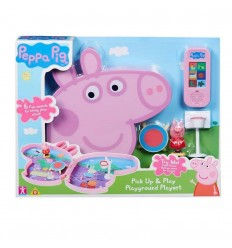 Peppa pig carrying case playset 2 models PPC35000 Giochi Preziosi- Futurartshop.com