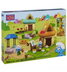 Le village de Puffy luxe 065541107328 Mega Bloks- Futurartshop.com