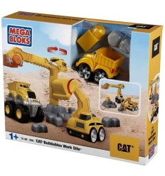 Jeu de construction - le Site des travaux de construction 065541006508 Mega Bloks- Futurartshop.com