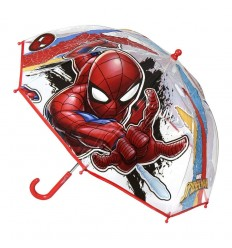 Paraply transparent manuell spiderman 45 cm MV-2400000409 Cerdà- Futurartshop.com