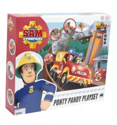 Sam le pompier - coffret de transport station de jeux Ponty Pandy AML33000 Gig- Futurartshop.com