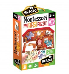 Montessori my frist puzzle the farm IT20140 Headu- Futurartshop.com