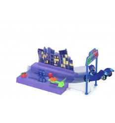 Pj masks night mission mit gattomobile 203143001 Simba Toys- Futurartshop.com