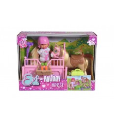 Evi love holiday con cavallo e scuderia 105733274038 Simba Toys-Futurartshop.com