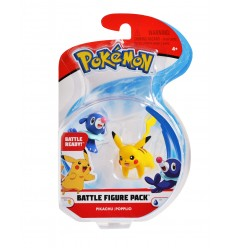 Pokemon battle figure personaggi pikachu e popplio PKE00000/4 Giochi Preziosi-Futurartshop.com