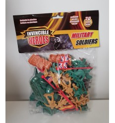 The envelope 70 pieces toy soldiers plastic 2 models RDF50795 Giochi Preziosi- Futurartshop.com