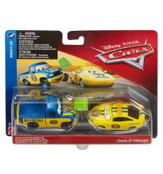 Cars 3 в упаковке 2 автомобили декстер гувер и чарли checker DXV99/FLH61 Mattel- Futurartshop.com