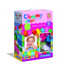 Clemmy plus build e create girls box 80 pezzi 17258 Clementoni-Futurartshop.com
