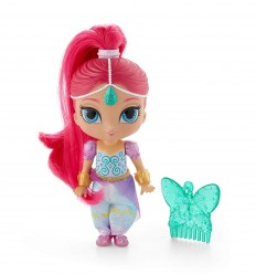 Shimmer and Shine - Doll Shimmer with long hair DLH55/FPV43 Mattel- Futurartshop.com