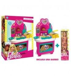 Barbie Pizza with doll GG00518 Grandi giochi- Futurartshop.com