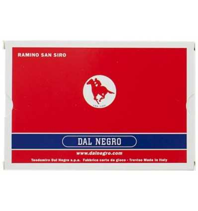San Siro Playing Cards Blue by Dal Negro