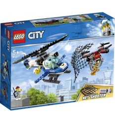 Lego 60207 - l'Aviation de la Police pour chasser le Bourdon LEG60207 Lego- Futurartshop.com