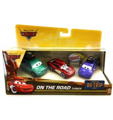 Cars 3 - Pack with 3 cars On The Road DXN96 Mattel- Futurartshop.com