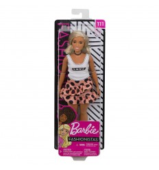 Barbie fashionistas con top e gonna pois FBR37/FXL51 Mattel-Futurartshop.com