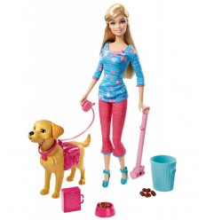Barbie and her Cuccoli Puppy BDH74 Mattel- Futurartshop.com