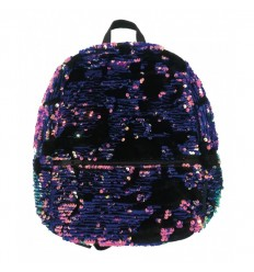 09f11efd95 Magic sequin e velvet mini zainetto pink e purple F77662  Crayola-Futurartshop.com