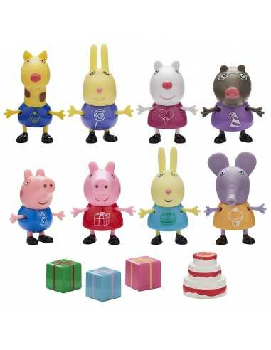 Peppa Pig Party Pack With 8 Characters
