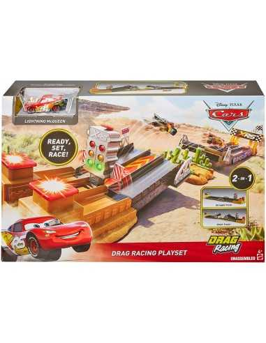 Cars Xrs Track Playset Drag Racing Mattel Futurartshop