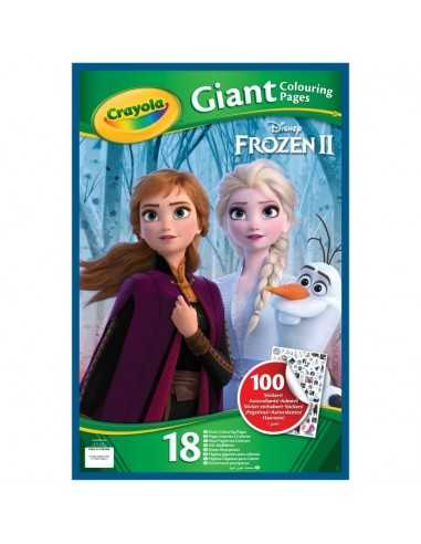 Frozen 2 Album Maxi With Stickers And Coloring Pages Crayola Fu