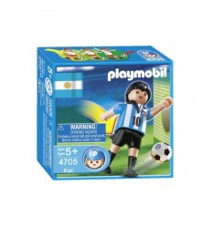 Joueur de football Argentine 4705 Playmobil- Futurartshop.com
