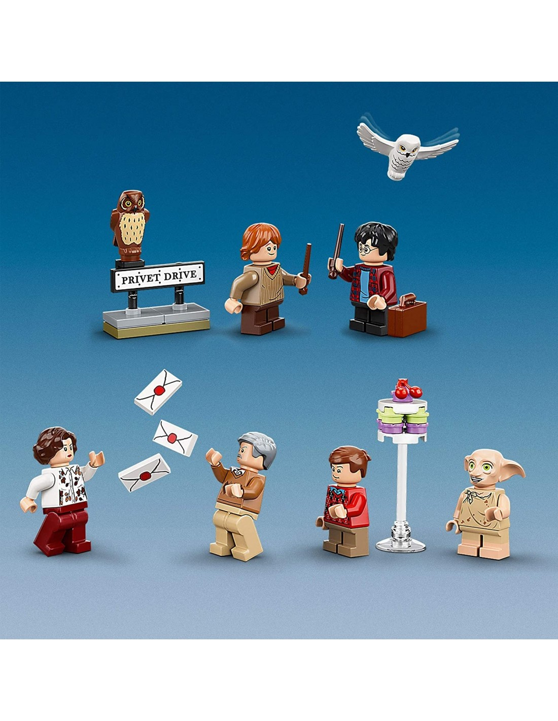Lego 75968 Harry Potter - Escape From Privet Drive 4 Lego ...