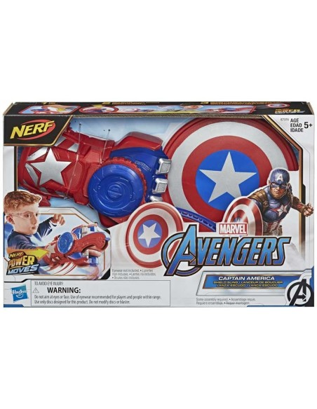Avengers Power Moves Role Play Captain America Shield Sling