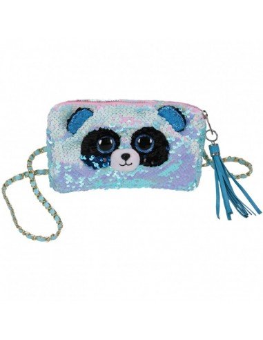Handbag Sequin Fashion Bamboo the Panda CRAT95142 Ty- Futurartshop.com