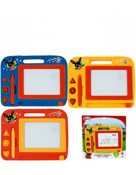 The Bing - Whiteboard magnetic with pen and 3 stamps
