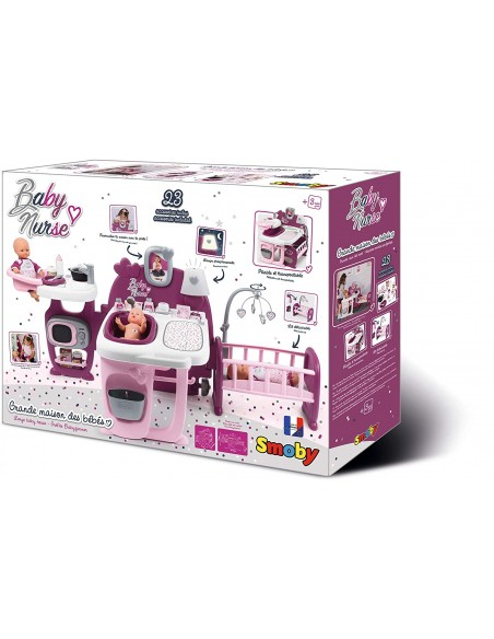 Baby Nurse - the Center game for Dolls with 23 accessories 7600220349 Simba Toys- Futurartshop.com