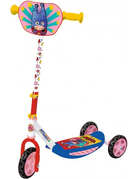 Masha and the Bear - Scooter 3 wheels Super
