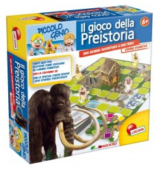 Small prehistoric Game Genius 42982 Lisciani- Futurartshop.com