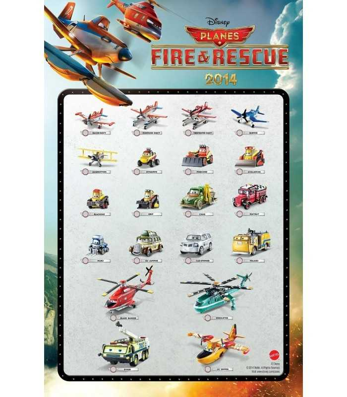 Characters Planes Fire Rescue 2014-& Leadbottom Mattel | Futurartshop