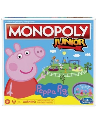 Monopoly Junior Peppa Pig F16561031 Hasbro- Futurartshop.com