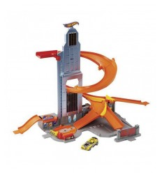 Hot Wheels race track from skyscraper BHR00 Mattel- Futurartshop.com
