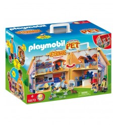 Playmobil vet case for animals at the zoo 5870 Playmobil- Futurartshop.com