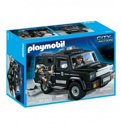 Playmobil police car unit playmobil city action futurartshop - Playmobil camion police ...